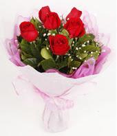 9 adet kaliteli görsel kirmizi gül  Manisa 14 şubat sevgililer günü çiçek