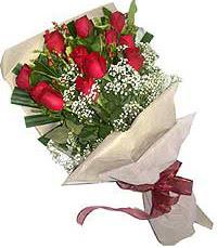 11 adet kirmizi güllerden özel buket  Manisa çiçek yolla , çiçek gönder , çiçekçi