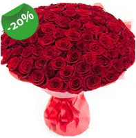 Özel mi Özel buket 101 adet kırmızı gül  Manisa çiçek , çiçekçi , çiçekçilik