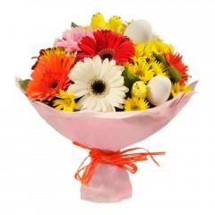 Karışık mevsim buketi Mevsimsel çiçek  Manisa çiçek yolla , çiçek gönder , çiçekçi