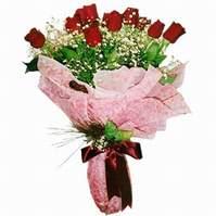Manisa güvenli kaliteli hızlı çiçek  12 adet kirmizi kalite gül