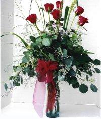 Manisa güvenli kaliteli hızlı çiçek  7 adet gül özel bir tanzim