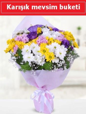Karışık Kır Çiçeği Buketi  Manisa çiçekçiler
