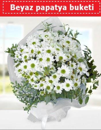 Beyaz Papatya Buketi  Manisa çiçek satışı