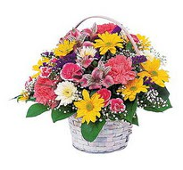 Manisa çiçek online çiçek siparişi  mevsim çiçekleri sepeti özel