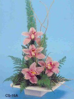 Manisa anneler günü çiçek yolla  vazoda 4 adet orkide