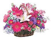 küçük karisik özel sepet   Manisa hediye çiçek yolla