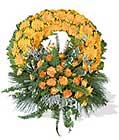 cenaze çiçegi celengi cenaze çelenk çiçek modeli  Manisa cicekciler , cicek siparisi