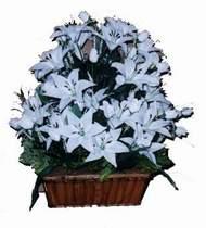 yapay karisik çiçek sepeti   Manisa çiçek gönderme sitemiz güvenlidir