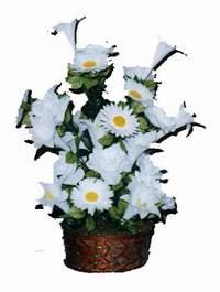 yapay karisik çiçek sepeti  Manisa İnternetten çiçek siparişi