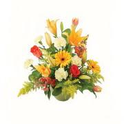 karisik renkli çiçekler tanzim   Manisa cicekciler , cicek siparisi