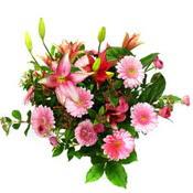 lilyum ve gerbera çiçekleri - çiçek seçimi -  Manisa 14 şubat sevgililer günü çiçek
