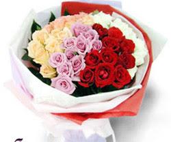 SEVENLERE ÖZEL 51 ADET GÜL  Manisa yurtiçi ve yurtdışı çiçek siparişi