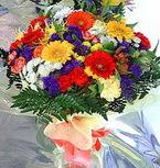 Manisa çiçek mağazası , çiçekçi adresleri  karma büyük ve gösterisli mevsim demeti