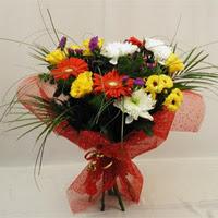 Manisa çiçek mağazası , çiçekçi adresleri  Karisik mevsim demeti