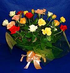 Manisa çiçek mağazası , çiçekçi adresleri  13 adet karisik renkli güller