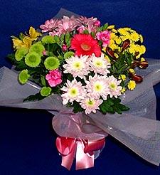 Manisa çiçek mağazası , çiçekçi adresleri  küçük karisik mevsim demeti