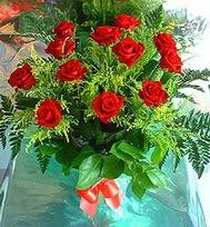 12 adet gül buketi  Manisa çiçek , çiçekçi , çiçekçilik