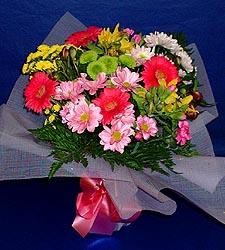 karisik sade mevsim demetligi   Manisa çiçek satışı