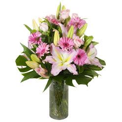 vazo içerisinde karisik mevsim çiçekleri  Manisa çiçek yolla , çiçek gönder , çiçekçi