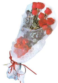 11 adet kirmizi güller buket tanzimi   Manisa güvenli kaliteli hızlı çiçek