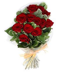 Manisa online çiçek gönderme sipariş  9 lu kirmizi gül buketi.