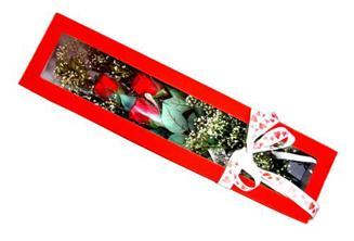 Manisa çiçek mağazası , çiçekçi adresleri  Kutuda 3 adet gül
