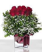 Manisa çiçek online çiçek siparişi  11 adet gül mika yada cam - anneler günü seçimi -