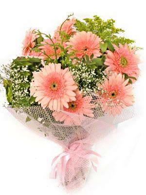 Manisa hediye sevgilime hediye çiçek  11 adet gerbera çiçegi buketi