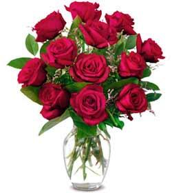 Manisa çiçek gönderme sitemiz güvenlidir  1 düzine kirmizi gül sevenlere özel vazo gülleri