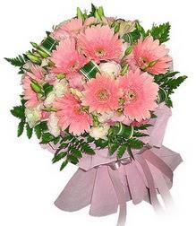 Manisa çiçek gönderme  Karisik mevsim çiçeklerinden demet