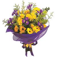 Manisa cicekciler , cicek siparisi  Karisik mevsim demeti karisik çiçekler