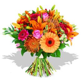 Manisa anneler günü çiçek yolla  Karisik kir çiçeklerinden görsel demet