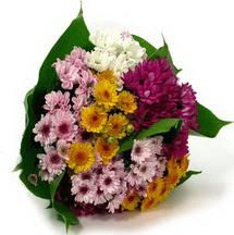 Manisa anneler günü çiçek yolla  Karisik kir çiçekleri demeti herkeze