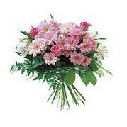 karisik kir çiçek demeti  Manisa hediye sevgilime hediye çiçek