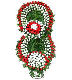 Görsel Cenaze çiçek , cenaze çiçek , çelengi  Manisa çiçekçi telefonları