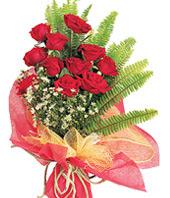 11 adet kaliteli görsel kirmizi gül  Manisa hediye sevgilime hediye çiçek