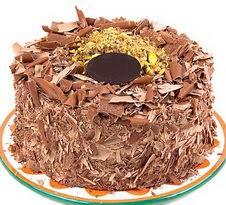 çikolatali 4 ile 6 kisilik yas pasta  Manisa çiçekçi mağazası