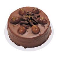 Kestaneli çikolatali yas pasta  Manisa çiçek online çiçek siparişi
