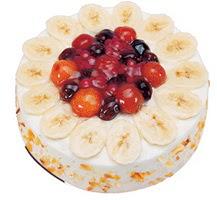 Meyvali 4 ile 6 kisilik yas pasta leziz  Manisa çiçek servisi , çiçekçi adresleri