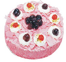 Sahane Tat yas pasta frambogazli yas pasta  Manisa cicekciler , cicek siparisi