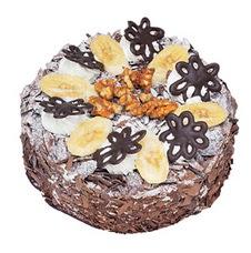 Muzlu çikolatali yas pasta 4 ile 6 kisilik   Manisa çiçekçi telefonları
