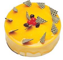 Karemelli yas pasta 4 ile 6 kisilik  leziz  Manisa İnternetten çiçek siparişi