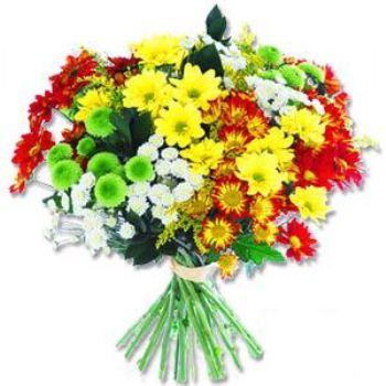 Kir çiçeklerinden buket modeli  Manisa çiçek gönderme sitemiz güvenlidir
