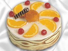 lezzetli pasta satisi 4 ile 6 kisilik yas pasta portakalli pasta  Manisa kaliteli taze ve ucuz çiçekler