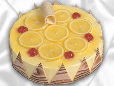 taze pastaci 4 ile 6 kisilik yas pasta limonlu yaspasta  Manisa çiçek gönderme sitemiz güvenlidir