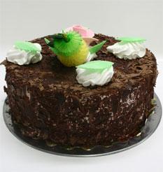 4 ile 6 kisilik yas pasta çikolatali leziz pastane ürünü  Manisa çiçek gönderme