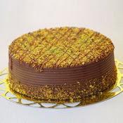 sanatsal pastaci 4 ile 6 kisilik krokan çikolatali yas pasta  Manisa çiçek yolla
