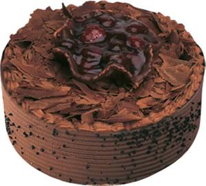 pasta satisi 4 ile 6 kisilik çikolatali yas pasta  Manisa çiçek online çiçek siparişi