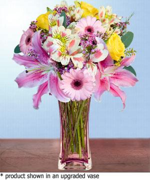 Anneme hediye karisik cam mevsim demeti  Manisa çiçek yolla , çiçek gönder , çiçekçi